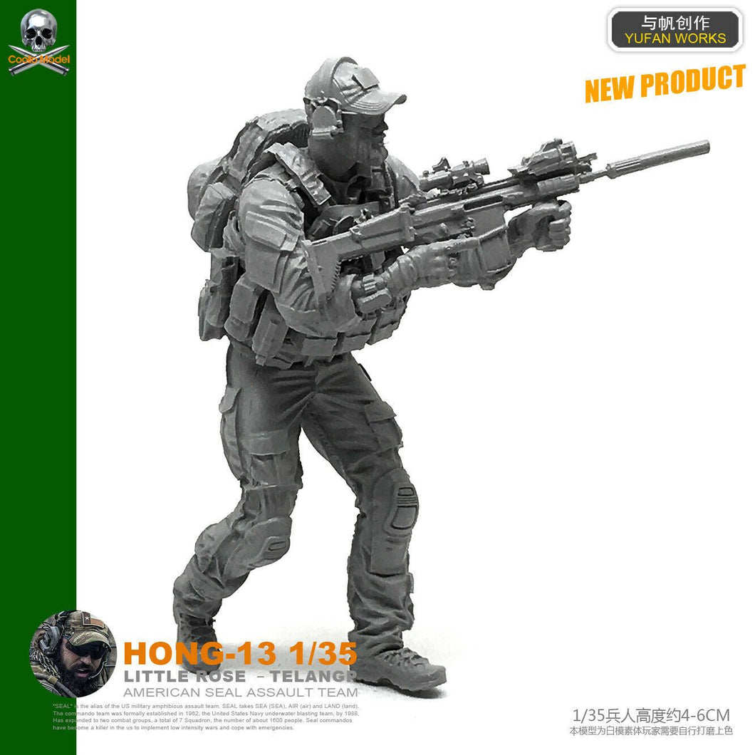 1:35 US Special Forces Soldier Resin Scale Figure HONG-13 - Yufan Models Store