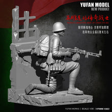 Load image into Gallery viewer, 1:35 Chinese Soldier 1979-80 China-Vietnam War Resin Scale Figure YFWW35-1983 - Yufan Models Store
