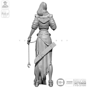 1:24 Female with Rope Resin Scale Figure TD-2100 - Yufan Models Store