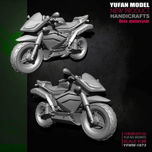 1:35 Angel Rose Motorcycle Resin Scale Figure YFWW-1873 - Yufan Models Store