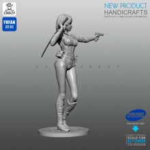 Load image into Gallery viewer, 1:24 Assassin Beauty Girl Resin Scale Figure TD-202008 - Yufan Models Store