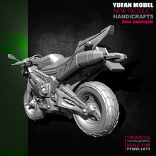 Load image into Gallery viewer, 1:35 Angel Rose Motorcycle Resin Scale Figure YFWW-1873 - Yufan Models Store