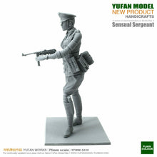 Load image into Gallery viewer, 1:24 German Female Sergeant with MP-40 Resin Scale Figure YFWW-1839 - Yufan Models Store