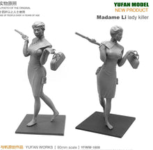 Load image into Gallery viewer, 1:18 Madame Li Lady Killer Female Resin Scale Figure YFWW-1809 - Yufan Models Store