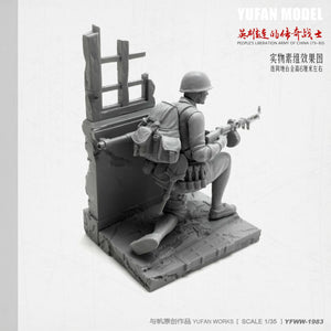 1:35 Chinese Soldier 1979-80 China-Vietnam War Resin Scale Figure YFWW35-1983 - Yufan Models Store