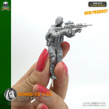 Load image into Gallery viewer, 1:35 US Special Forces Female Soldier Resin Scale Figure HONG-15 - Yufan Models Store