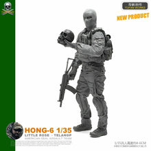 Load image into Gallery viewer, 1:35 Rebel Soldier Resin Scale Figure HONG-06 - Yufan Models Store