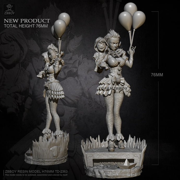 75mm Resin model kits figures self-assembled TD-2363