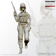 Load image into Gallery viewer, 1/24 Resin Figure KitsPLA Female Special Forces Resin Soldier Self-assembled YFWW-2051