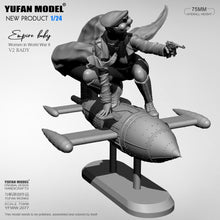 Load image into Gallery viewer, 1/24 Yufan model kits figure beauty self-assembled YFWW-2077