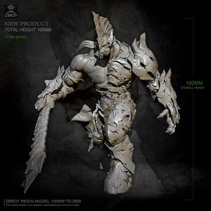 100mm Resin model kits toy figure self-assembled TD-2508