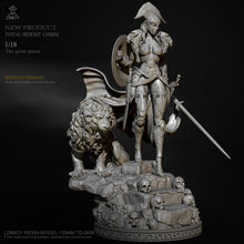 Load image into Gallery viewer, H120mm 1/18 Resin model kits DIY figure self-assembled TD-2666
