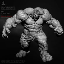 Load image into Gallery viewer, 1/18 A raging giant Hulk Resin model ZBBOY TD-2643