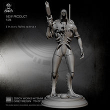 Load image into Gallery viewer, new 1/24 Resin Figure Kits Robot soldier model self-assembled TD-2211