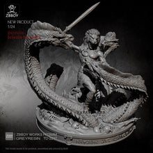Load image into Gallery viewer, new 75MM Resin Model Kits God of War Leech self-assembled TD-2217
