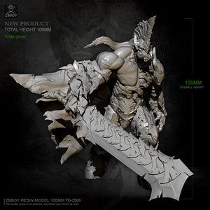 1/16 Knife ghost Resin model kits toy ZBBOY TD-2508