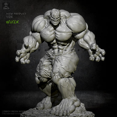 75mm Resin Figrue Kits Angry Giant 2 Model Self-assembled TD-2316