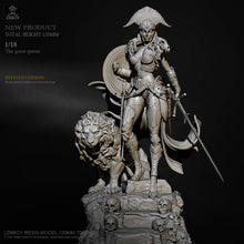 Load image into Gallery viewer,  1/18 The great queen Resin model H120mm ZBBOY TD-2666