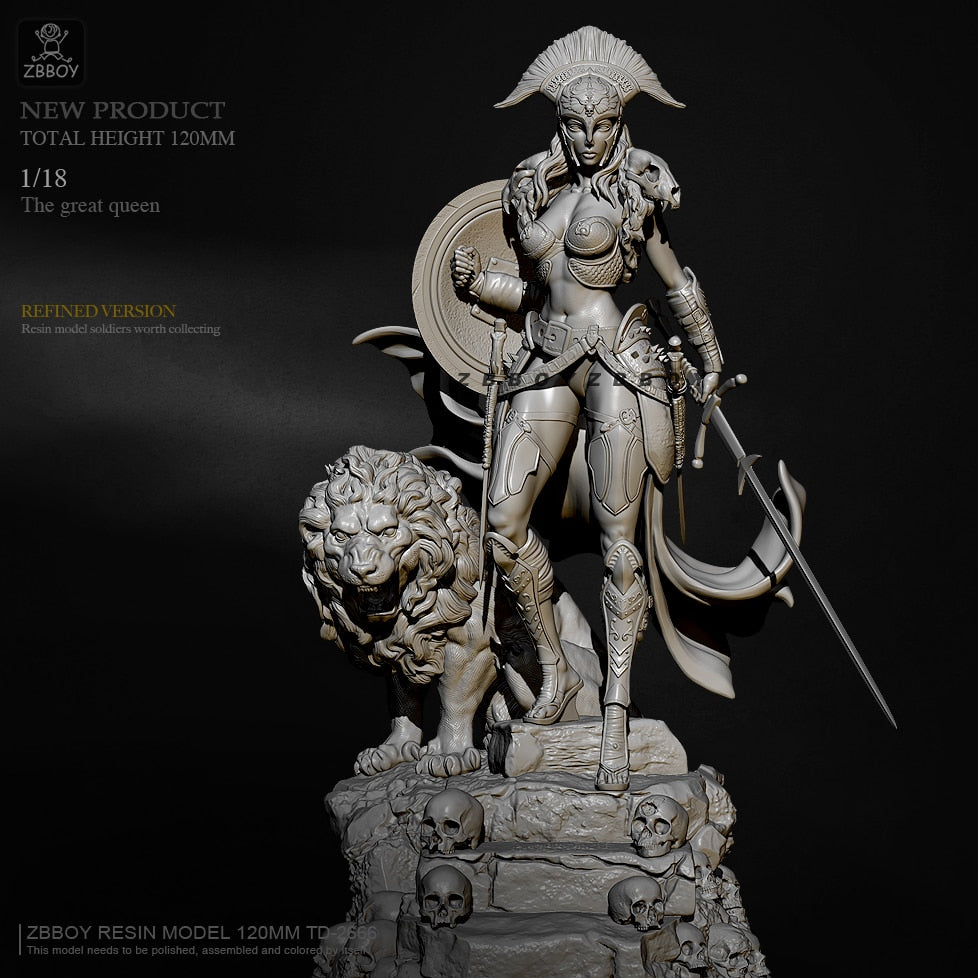 1/18 The great queen Resin model H120mm ZBBOY TD-2666