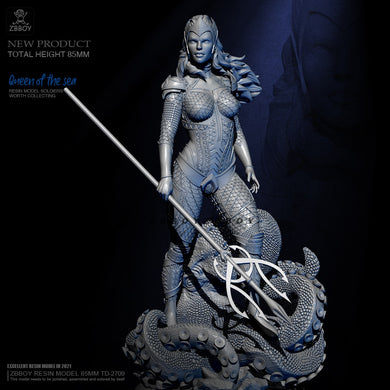 1/24 Queen of the Sea Scale Female Figure TD-2709