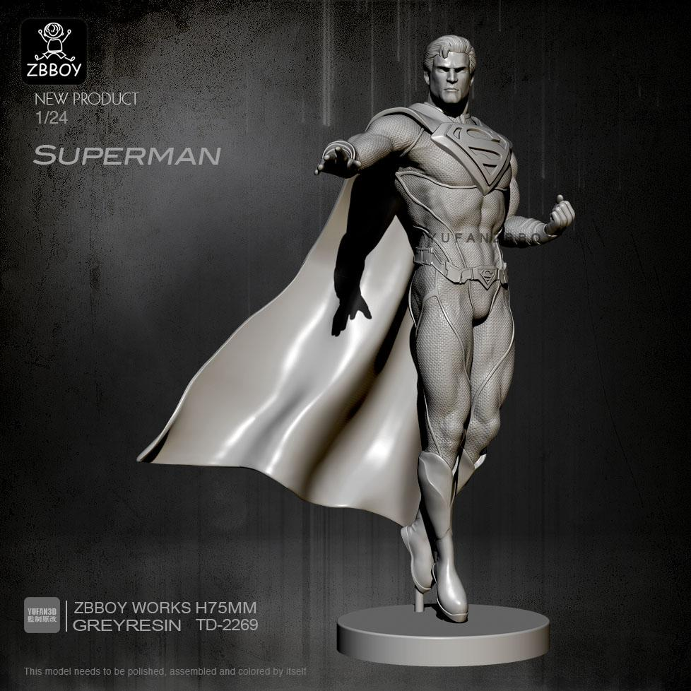 1:24 Superman Resin Scale Figure TD-2269 - Yufan Models Store