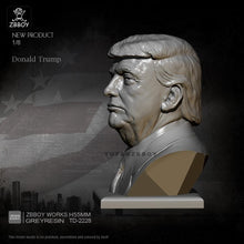 Load image into Gallery viewer, new H55MM Resin Bust Kits Donald Trump Figure Model Self-assembled TD-2228