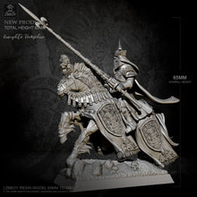 Load image into Gallery viewer, 1/32 Templar knight Resin model ZBBOY H65mm TD-2563