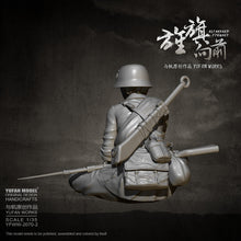 Load image into Gallery viewer, YUFAN MODEL 1/35 Female soldier self-assembled YFWW-2070-2