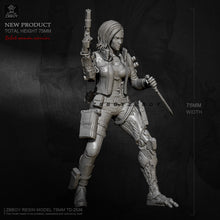 Load image into Gallery viewer, H75mm 1/24 Resin model kits DIY toys figure self-assembled TD-2536
