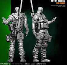 Load image into Gallery viewer, Yufan Model Original 75mm Figure  U.s. Sniper Resin Soldier Model Kit YFWW-1833