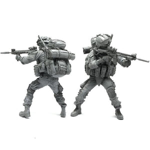 1:35 Elite US Marines Soldier Scale Resin Figure AH-05 - Yufan Models Store