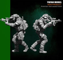 Load image into Gallery viewer, Yufan Model  1/35 Resin Soldier Figura US Army Seal Six Model YFWW35-1823