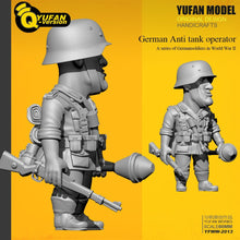 Load image into Gallery viewer, Yufan Model  1/32 Figure Kits  Q Version Resin Soldier (60mm High) Yfww-2013