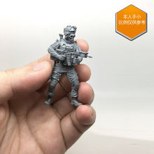 Load image into Gallery viewer, Yufan Model 1/35 Figure U.s. Special Forces Skeleton Hunter Resin Soldier Tlp-01