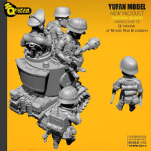 Load image into Gallery viewer, Yufan Model  1/32 Soldier Q version of the soldier 6 plus tank set  Yfww-2015