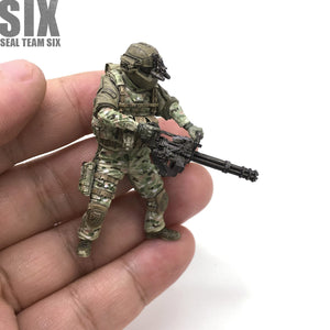 Yufan Model 1/35 Modern Us Seal Destruction Warrior Model Assembled Model  Kit Usk-06
