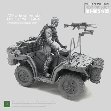 Resin Figure With Female Driving Suit For 1/35 Female Soldier Seal Troop Terrain Vehicle Model Kit Djj-05