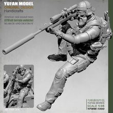 Load image into Gallery viewer, Yufan Model 1/35 Resin Figure Us Sniper Resin Soldier Unmounted Yfww-1990