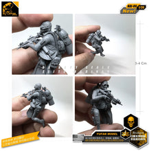 Load image into Gallery viewer, Yufan Model 1/35 Figure Kits Modern American Amphibious Commando Resin Soldier Model Accessories Unmounted Nai-06