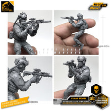 Load image into Gallery viewer, Yufan Model 1/35 Figure Model Kit Modern American Seal Veterans Resin Soldier Model Nai-24
