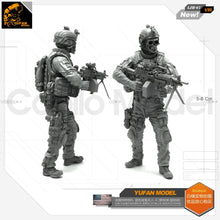 Load image into Gallery viewer, Yufan Model 1/35 Resin Figure Blue Devil Soldier-g Resin Model Ljh-07 For Us Special Forces Model Kit LJH-07