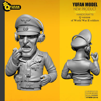 Yufan Model 1/35 Resin Soldier Q version Figure Model Kits Yfww-2016