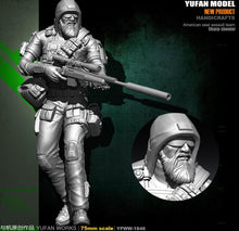 Load image into Gallery viewer, Yufan Model Original 75mm Figure U.s. Army Ghost Sniper Resin Soldier YFWW-1846