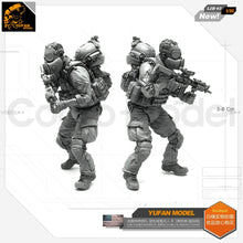 Load image into Gallery viewer, Yufan Model 1/35  Resin Figure Us Special Forces Blue Devil Soldier-b Resin Model Ljh-02