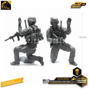 1:35 US Army Soldier Scout Resin Scale Figure NAI-11 - Yufan Models Store