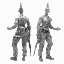 Load image into Gallery viewer, 1:35 Postapocalypse Bounty Hunter Resin Scale Figure A18-08 - Yufan Models Store