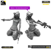 Load image into Gallery viewer, 1/35 Resin Kits US Navy SEAL female archer Resin soldier LOO-33