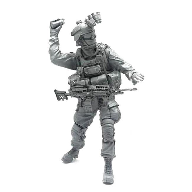 1:35 US Marines Soldier Throws a Grenade Resin Scale Figure BEE-14 - Yufan Models Store