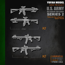 Load image into Gallery viewer, 1:35 M4 Rifle Set-2 4 psc Resin Scale Accessories YFWW-1864 - Yufan Models Store
