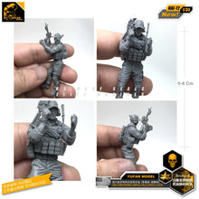 Load image into Gallery viewer, Yufan Model 1/35  Resin Soldier  Model Accessories Kits Unmounted GK DIY Figure Nai-12